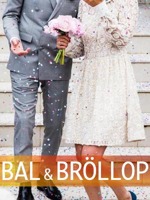Klänning för bal och bröllop