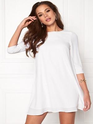 Elegance Dress White - Cocktailklänning.se